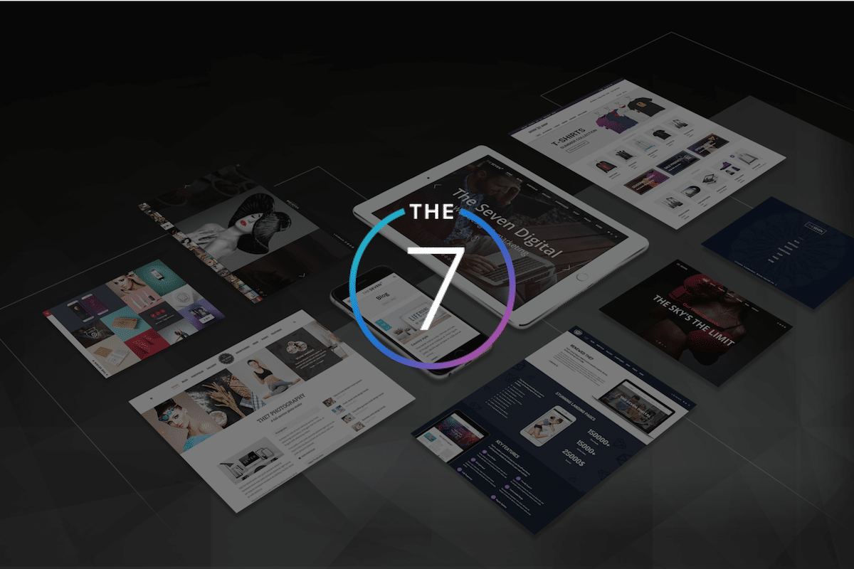 Thème wordpress The 7