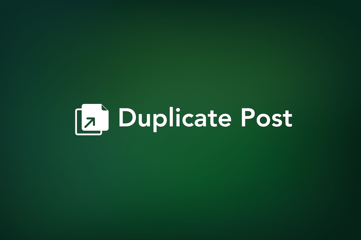 Duplicate Post
