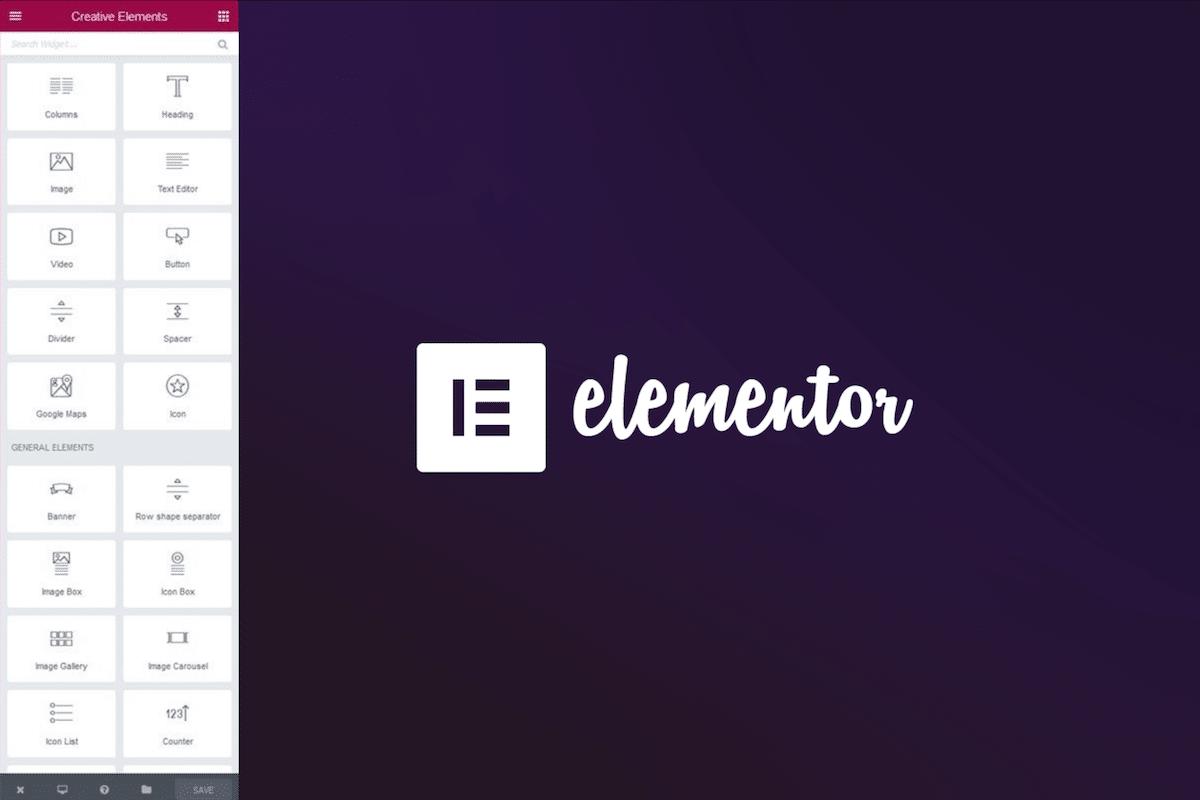 Elementor plugin builder WordPress