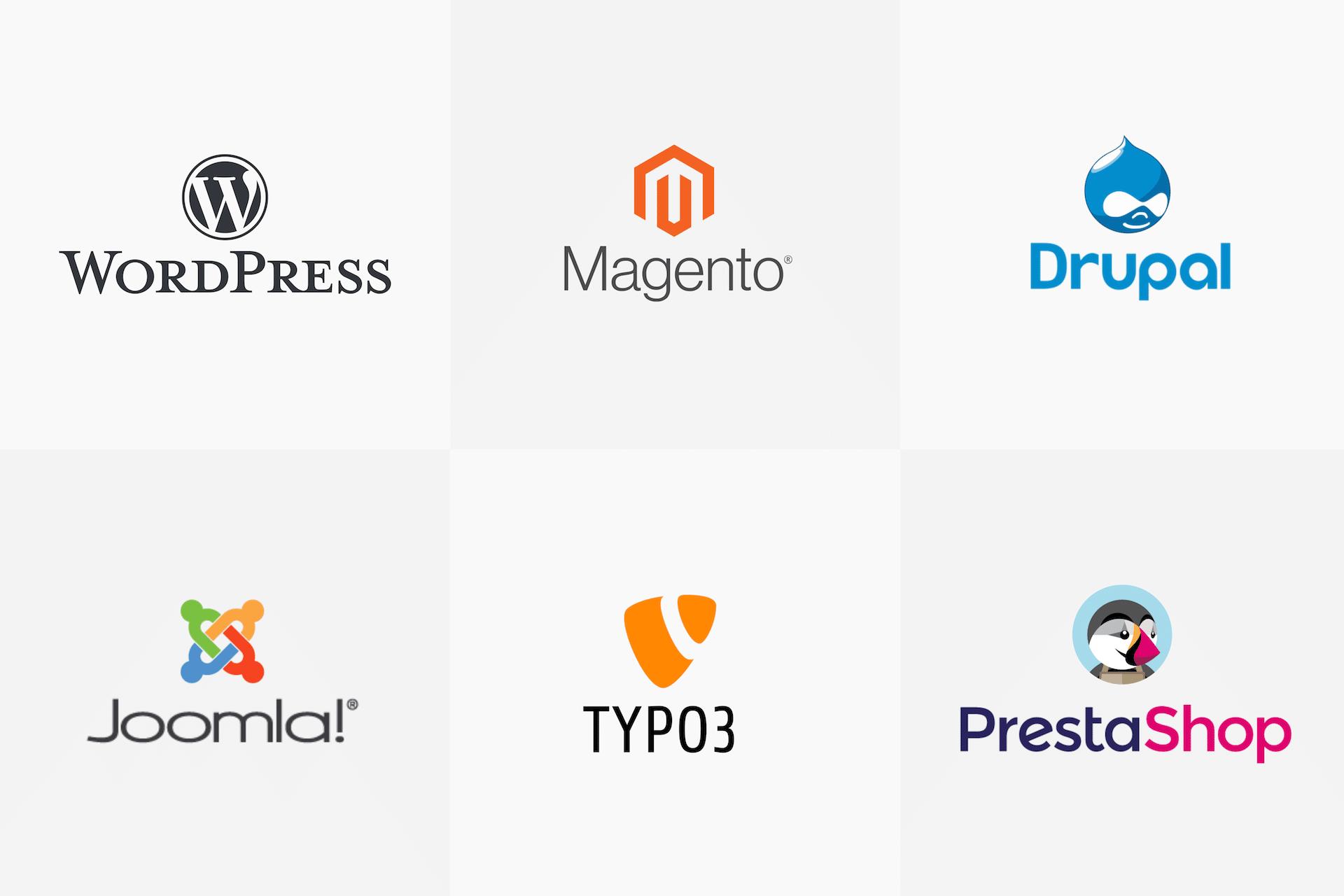 Les principaux CMS utilisés par les agences web