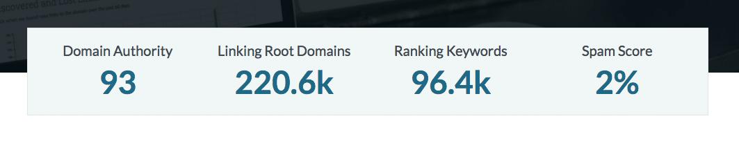 Résultat domain autority site reviews tools