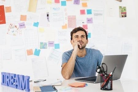 Entrepreneur réflexion
